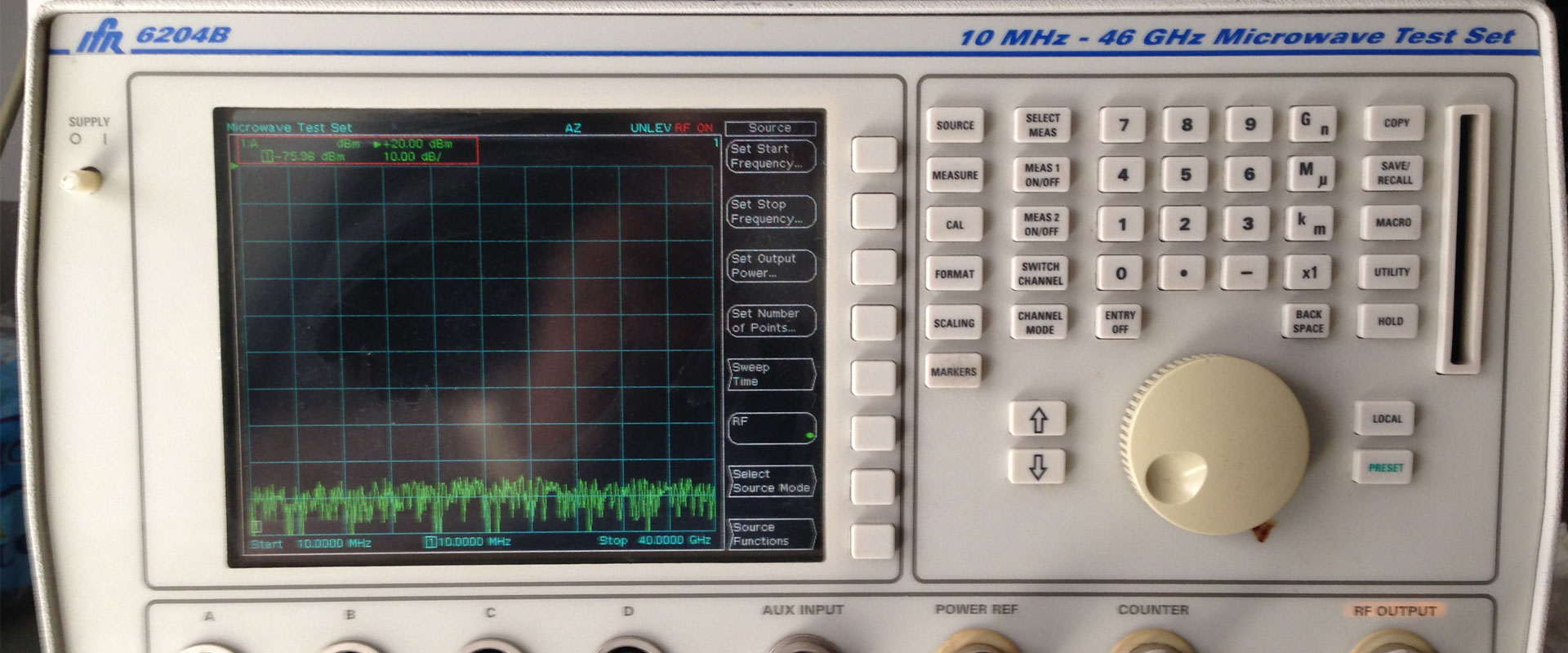 Test set 46 GHz IFR 6204B